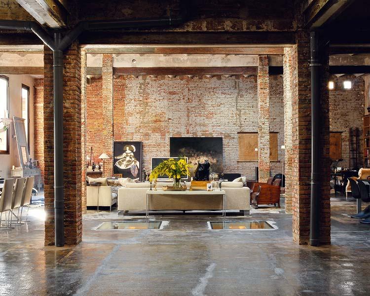 Renovated Loft Design