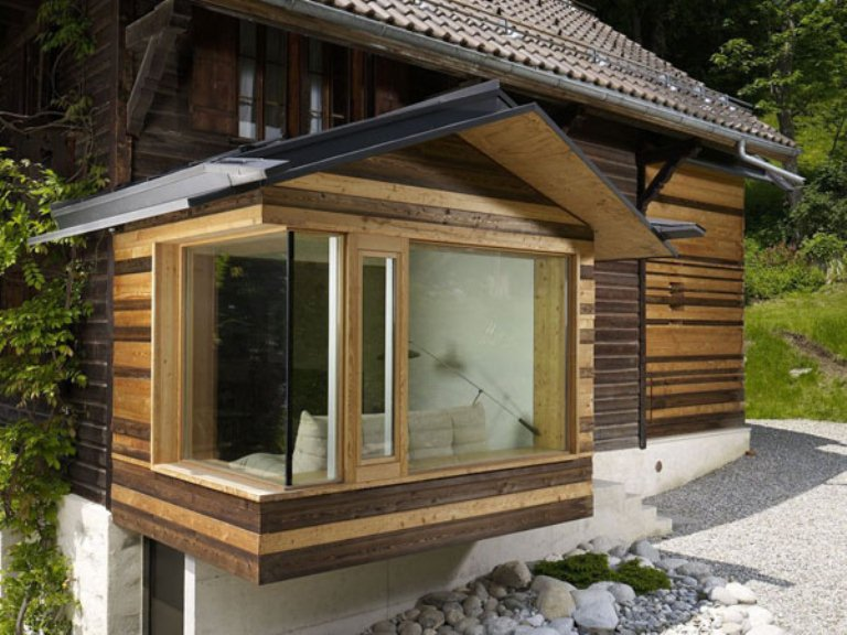 Renovation Of A Century Old Chalet In The Swiss Alps