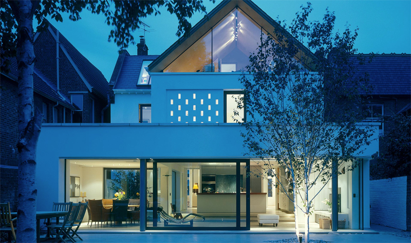 Contemporary But Practical Renovation of a Two-Storey Edwardian Brick House