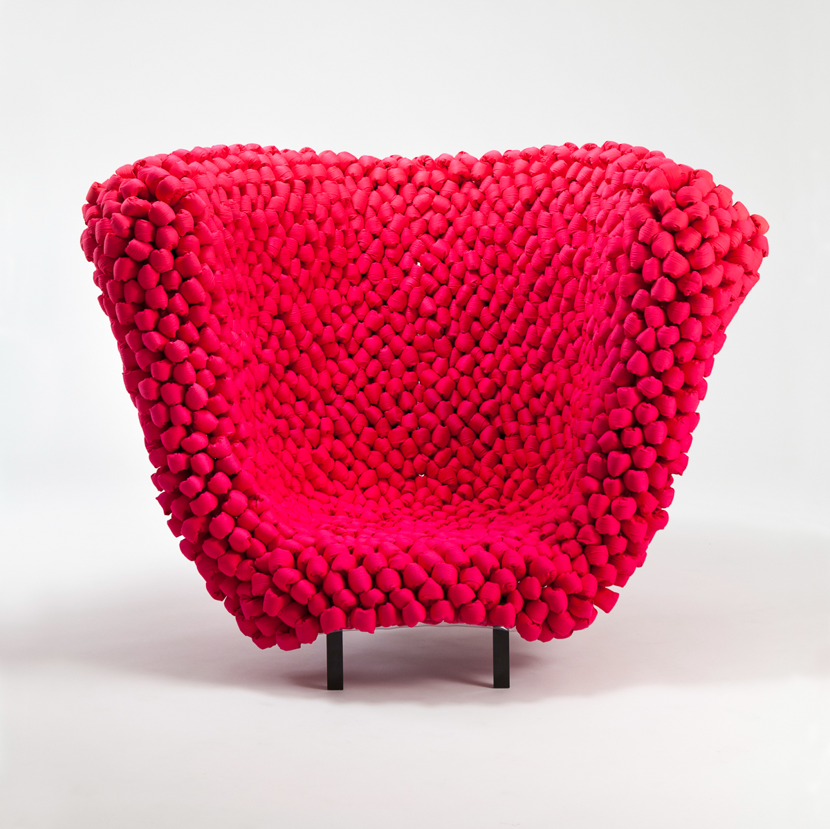 Rethinking Soft Materials In Furniture Design: Unique Chair Collection