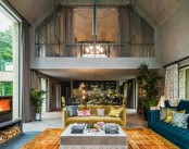 Retro Glam Take On The Traditional English Holiday Home