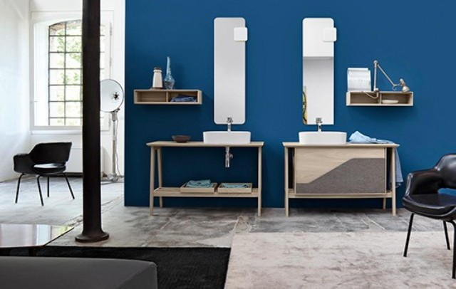 Retro-Inspired Free Bathroom Furniture Collection