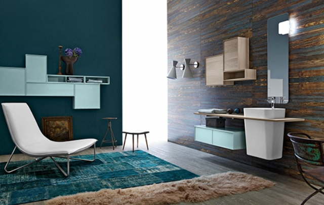 Retro Inspired Free Bathroom Furniture Collection