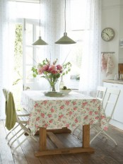 Retro Like Romantic Kitchen