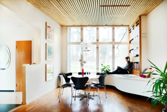 Retro Mid Century House Style In Sweden
