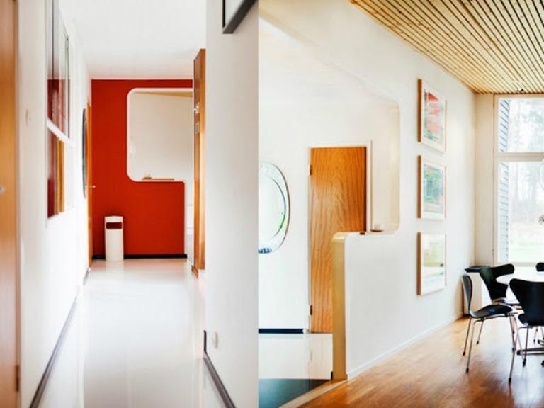 Retro Mid Century House Style In Sweden
