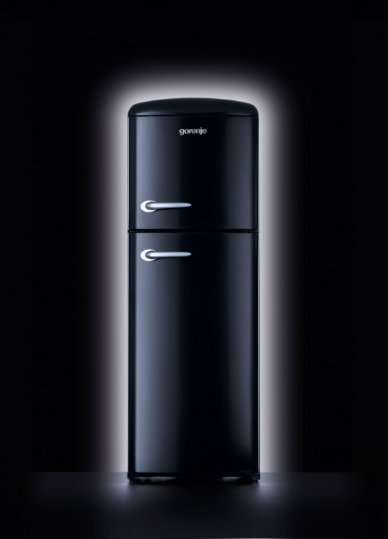 New Contemporary Retro Refrigerator by Gorenje