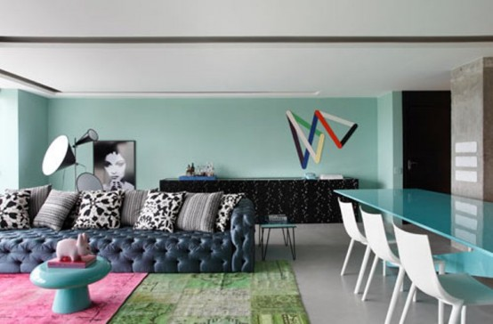 RL House In Green And Blue By Studio Guilherme Torres
