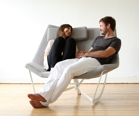 Flexible Rocking Chair With a Padded Seat – Sway by Markus Krauss ...