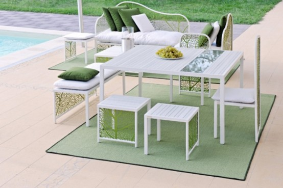 Romantic And Refined Garden Furniture Collection by Corradi
