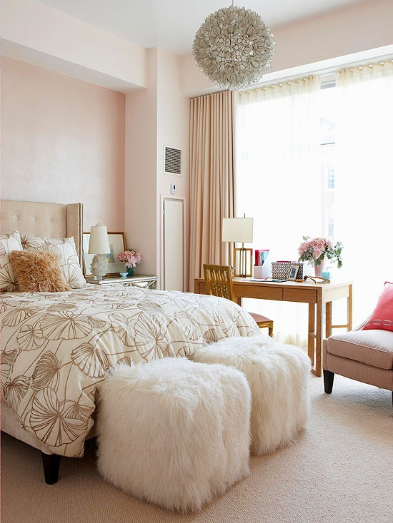 Romantic Room Designs: 66 Romantic And Tender Feminine Bedroom Design Ideas