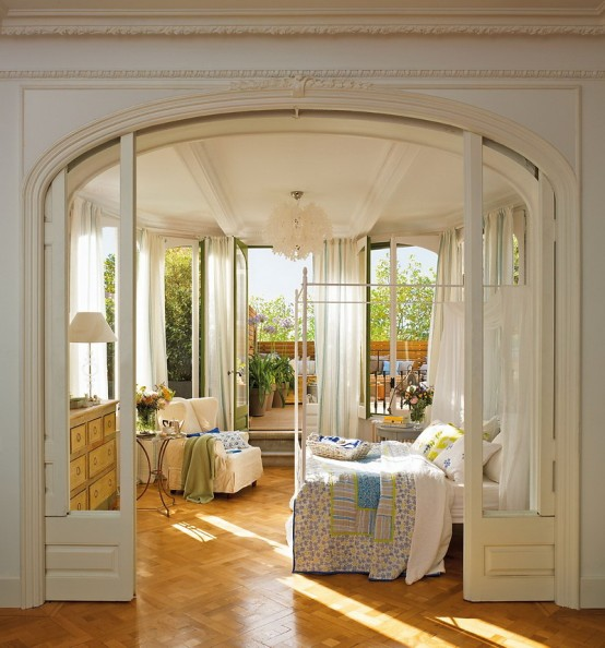 Romantic Bedroom Design With Semicircular Windows DigsDigs Gorgeous Windows For Bedroom Design