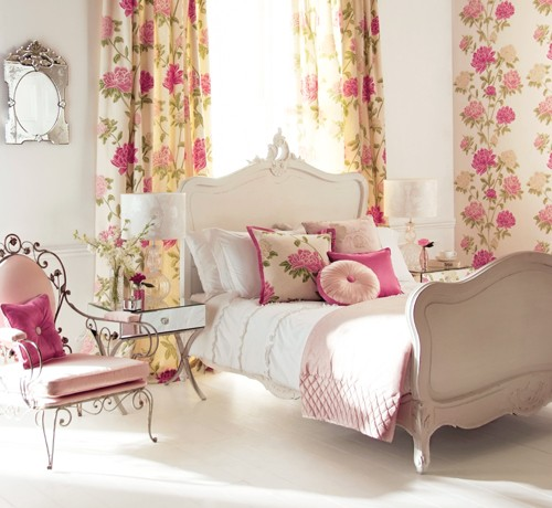 Romantic Bedroom With A Feminine Vibe
