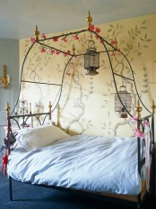 Romantic Bedroom With A Love Nest