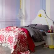 Romantic Beroom In A Bunch Of Colors