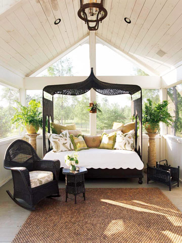 Romantic Outdoor Room