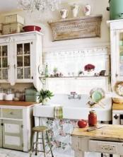 Romantic Rustic Vintage Kitchen