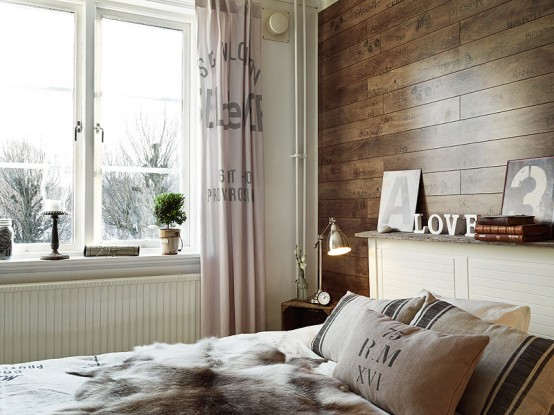 Romantic Stockholm Apartment With Shabby Chic Touches