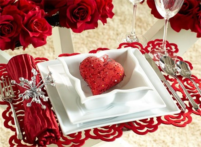 25 romantic table d cor variants for the best valentine s