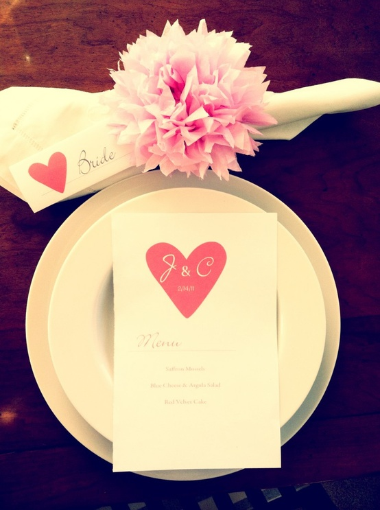 Romantic valentine s day table settings digsdigs