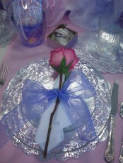 Picture Of Romantic Valentine's Day Table Settings