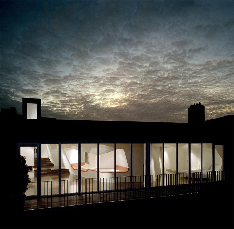 Roof Top Loft Design In Berlin