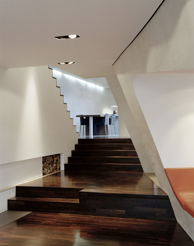 Roof Top Loft Design In Berlin