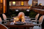 Rooftop Deck For A Romantic Dinner