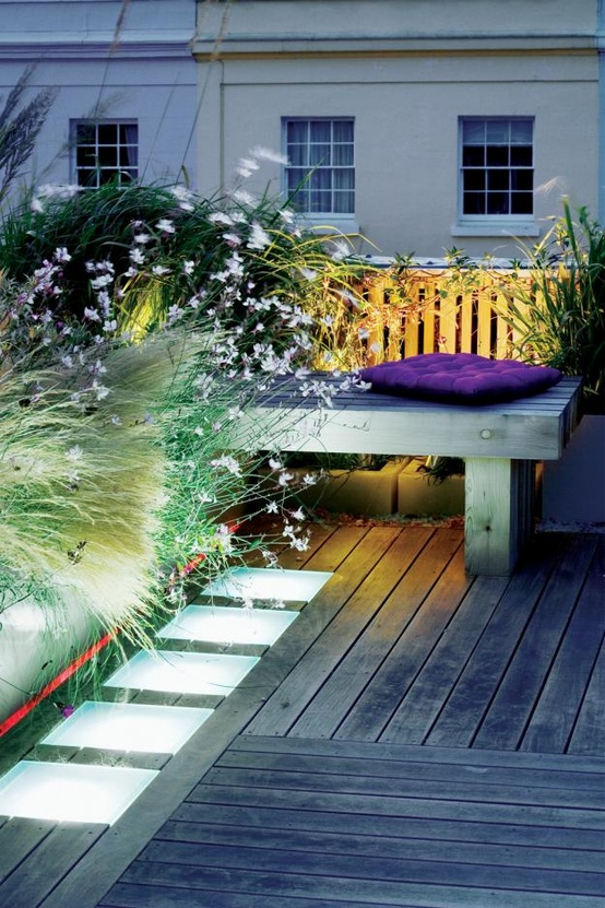 75 inspiring rooftop terrace design ideas digsdigs for Terrace landscape
