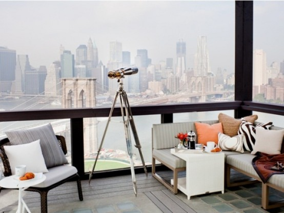 Your rooftop terrace is high enough? A telescope is what you need there.