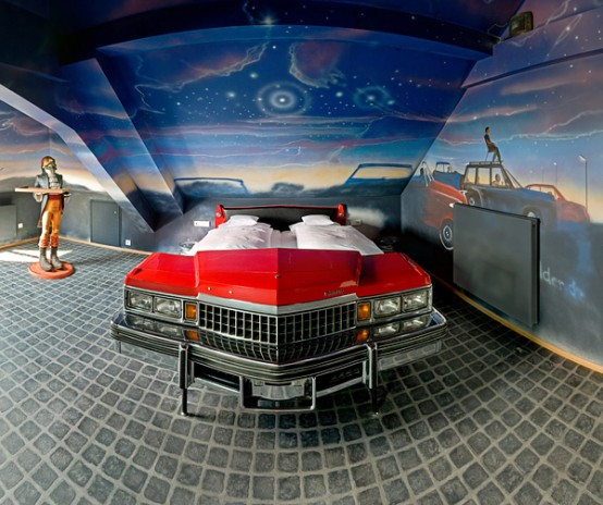 10 Cool Room Designs for Car Enthusiasts
