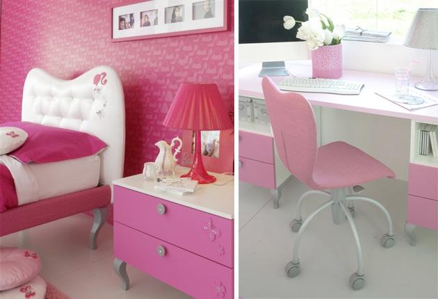 Room for a barbie princess from doimo cityline digsdigs - Dormitorio nina 2 anos ...