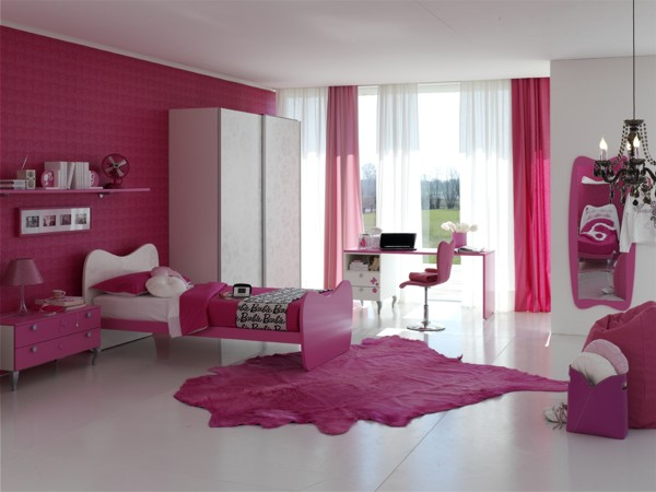 Room for a barbie princess from doimo cityline digsdigs for Habitaciones juveniles modernas