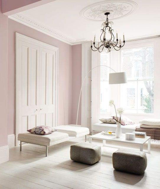 16 Rose Gold And Copper Details For Stylish Interior Decor: Pantone's 2016 Color: 28 Rose Quartz Home Décor Ideas