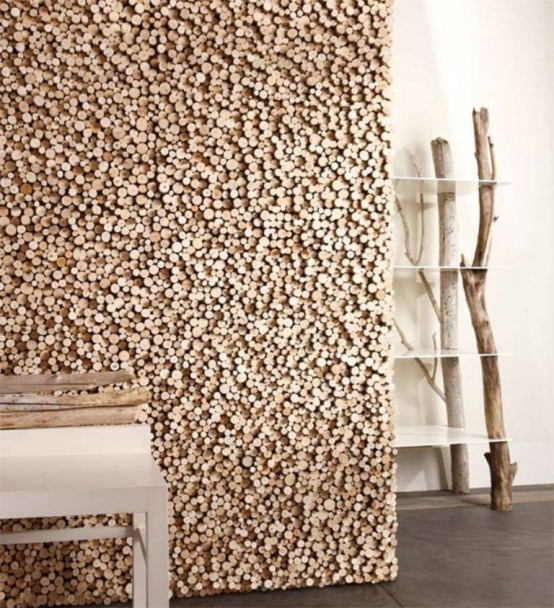 Creative Rough Wood Floor And Wall Tiles By Bleu Nature