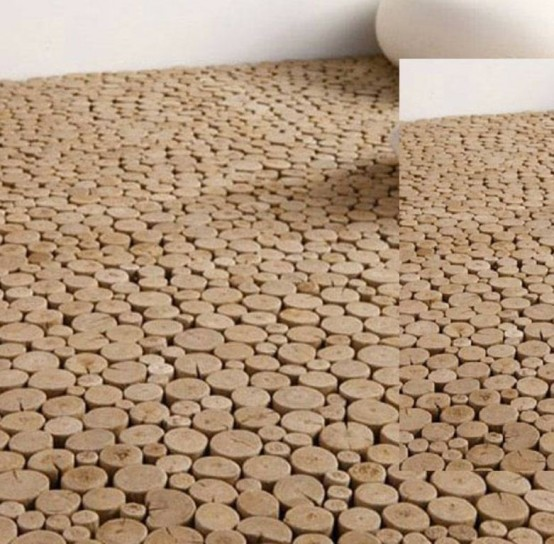 Rough Wood Wall And Floor Tiles By Bleu Nature