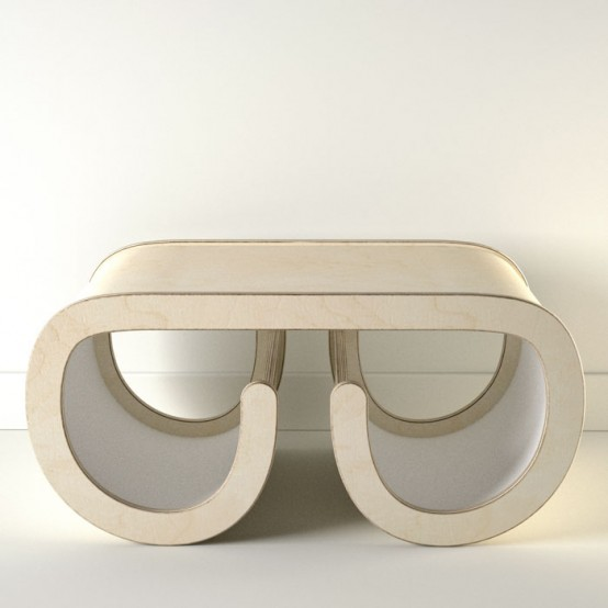 Round Coffee Table In White