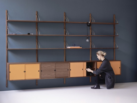 Royal Shelving System For Effective And Comfy Storage