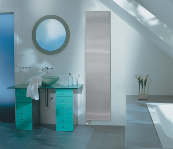 Runtal Minimalist Radiator Bathroom
