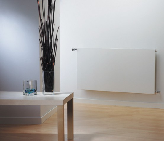 Runtal Minimalist Radiator Living Room