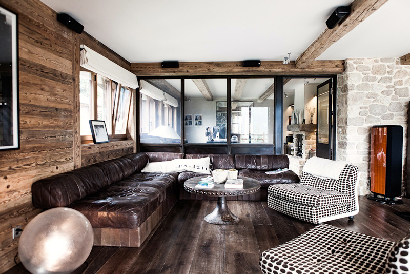 Rustic And Mid-Century Chalet Vieux Valet Verbier