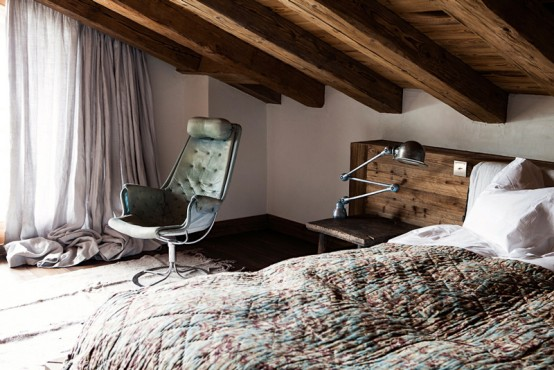 Rustic And Mid Century Chalet Vieux Valet Verbier