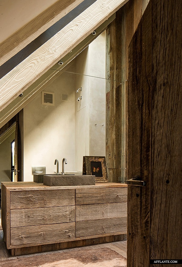 Wood Bathroom Decorating Ideas ~ Rustic barn bathroom design ideas digsdigs