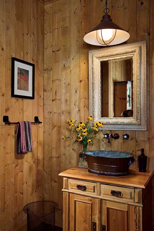 Rustic Bathrooms Designs Fascinating 44 Rustic Barn Bathroom Design Ideas  Digsdigs Inspiration Design