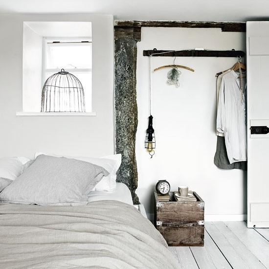A Scandi Style Kitchen And Bathroom With A Coastal Cool Feel: Rustic Coastal House Of Stone Gray Color