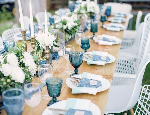 35 boy baby shower decorations that are worth trying Baby shower table setting