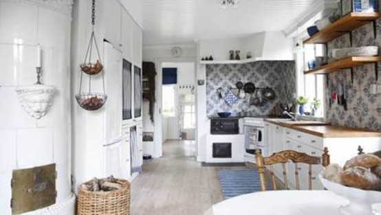 Rustic House In A Swedish Village