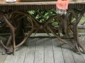 Rustic Porch With Hunters Retreat Touches