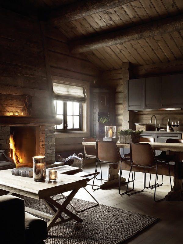 rustic rough wood house with vintage touches digsdigs