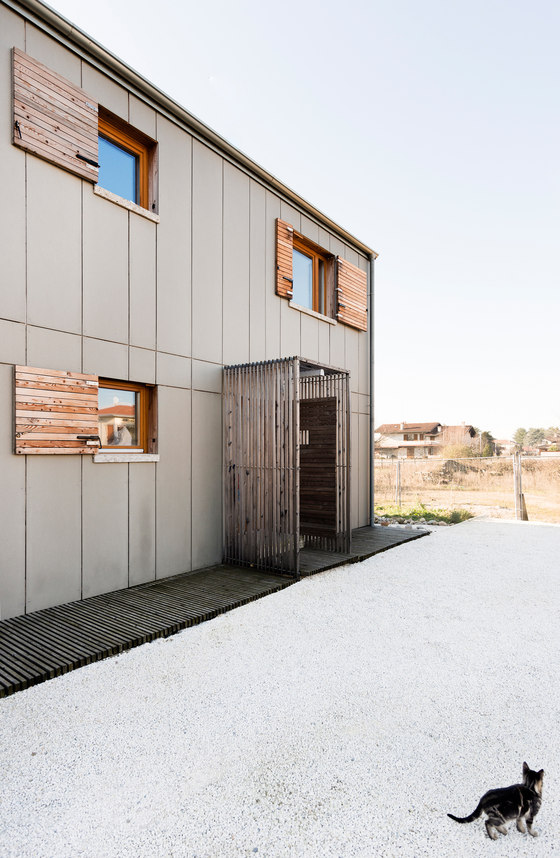Rustic Wood Clad House Designed With Industrial Touches